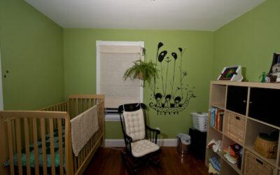 Como pintar la habitación de tu bebe