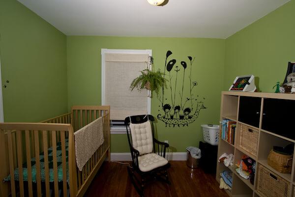 ¿Qué colores utilizar para pintar dormitorio de bebé?