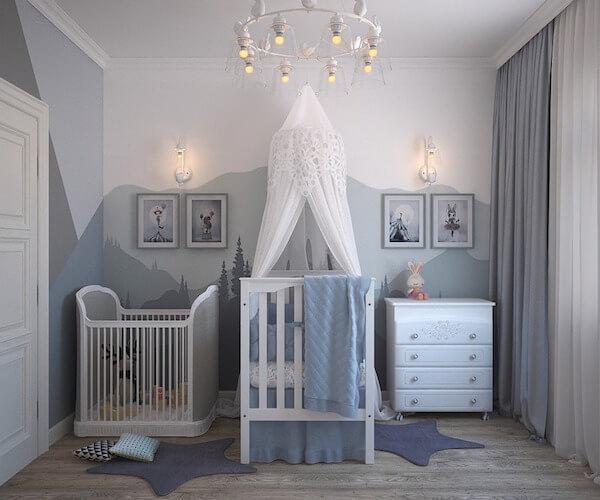 Tipos de pintura para pintar habitación bebé